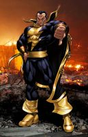 Black Adam by JJKirby