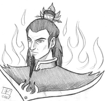What I Think Ozai Looks Like by Booter-Freak