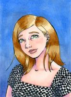 ACEO Self Portrait by StephanieReeves