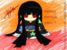 Jigoku Shoujo: Chibi-Ai by CrucifixJEL