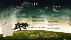 April 2012's Desktop by KirtZJ