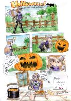Happy Halloween by LadyDeddelit
