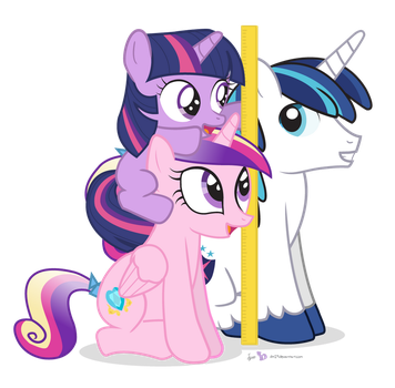 We're Taller Than Shining Armor! by dm29
