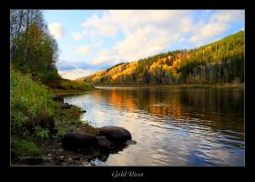 Gold River by Sagittor