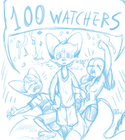 100 watchers!! by Kay950