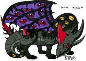 Apoklygogg - Dragoon Form *Complete* by trinityweiss