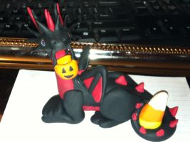 My first polymer clay sculpture by gillilandtex05