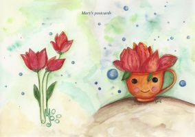 Tulips in the cup by ma-ry2004