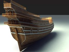 Galleon - Work In Progress by Bellal