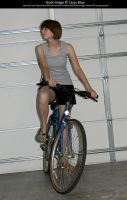 Bicyclist Stock 3 by Cassy-Blue