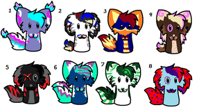 5 Point Adoptables by Xx-AnickJukebox-xX