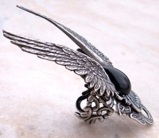 Dark Angel Ring 1 by Aranwen