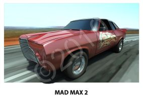 MAD MAX 2 HQ by waynedowsent