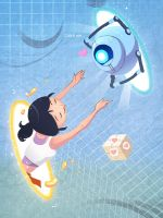 Portal2 Dear Come to me by biggreenpepper