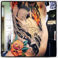 dragon tattoo 1 by jerrrroen