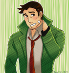 It's detective Gumshoe, pal! by Bearnas