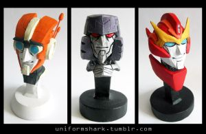 IDW Bust Sculptures by Uniformshark