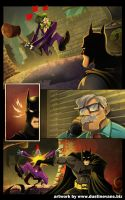 BATMAN page 4 by DustinEvans