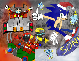 Happy Holidays from Sonic! by Guardian-of-Legends