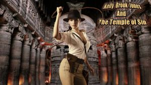 Kelly Brook Jones and The Temple of Sin by SWFan1977