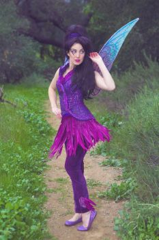 Pixie Hollow Vidia Cosplay Costume by glimmerwood