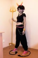 Meenah cosplay: WIP by sweetHobgoblin
