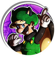 .: Flying Squirrel Luigi:. by Miapon