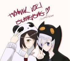 1,500+ Thank Yous! by GydroZMaa