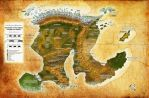 Commission - Worldmap - Mike Canino by DePassage