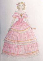 Fancy Frilly Victorian Dress by taylor-of-the-phunk