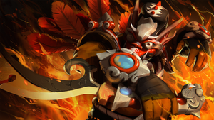 Dota 2 Juggernaut Set: Garuda's Might by kendmd