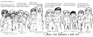 St. Valentine day 2013 - The Way of Legends by FuriarossaAndMimma