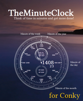 TheMinuteClock for Conky by unistructure