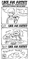 Like An Artist Meme by Ocrienna
