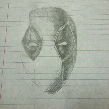unfinished Deadpool by Batterypower14