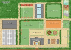 Misty Meadow Stables Map by AliceYung