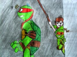 TMNT: Cucaracha by chicaosito
