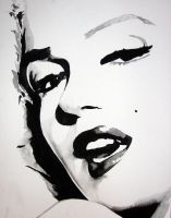 Marilyn Monroe Nine by mixtapegoddess