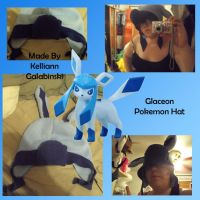 Glaceon Hat by CupcakeCrafty