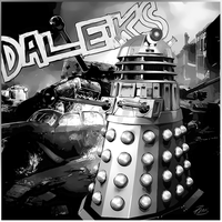 Daleks in Black and White by PZNS