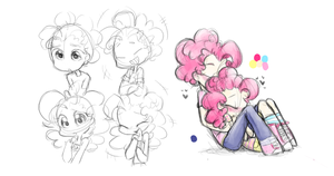 doodles again because I'm lazy by Annie-Aya