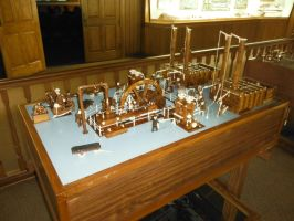 Master Carving of Corliss Steam Engine by SteamRailwayCompany