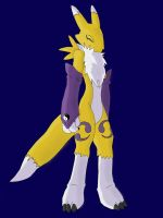 Laughing Renamon by Cybron666