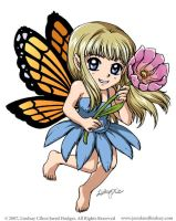 Tiny Cutie Monarch Faerie by LCibos
