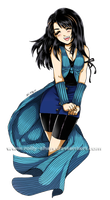 Rinoa smile by Rolly-Chan
