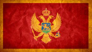 Montenegro Grunge Flag by SyNDiKaTa-NP