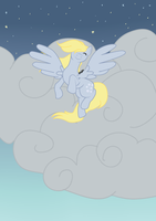 Windblown Derpy Hooves by RhythmGeneration