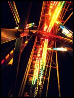 Inside a Ferris Wheel by BookWizard