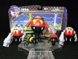 Dr. Robotnik prepares for Sonic The Hedgehog! by forever-at-peace