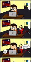 What Happened To That Derp Devil Comic by New-Atlas